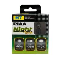Лампы PIAA NIGHT TECH HE-823 (H7) (3600K), 2шт