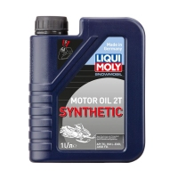 Моторное масло LIQUI MOLY Snowmobil Motoroil 2T Synthetic, 1л